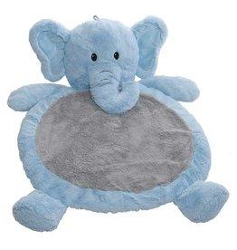 Mary Meyer Toys Blue Elephant Baby Mat