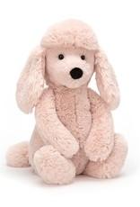 """Jelly Cat Bashful Blush Poodle Medium 12"""""""