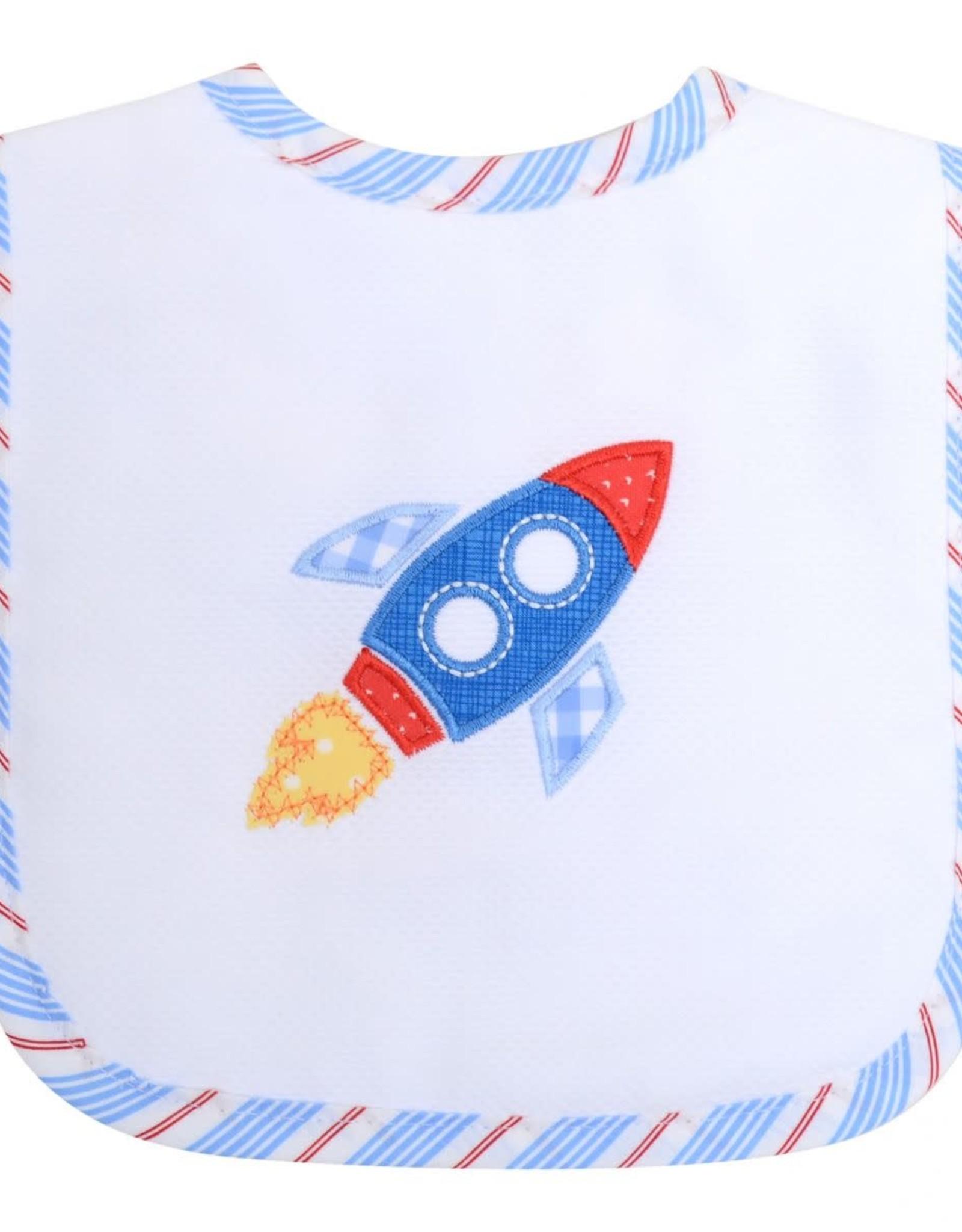 Three Marthas Rocket Feeding Bib