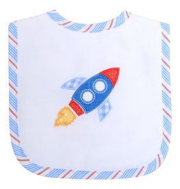 Three Marthas Rocket Feeding Bib