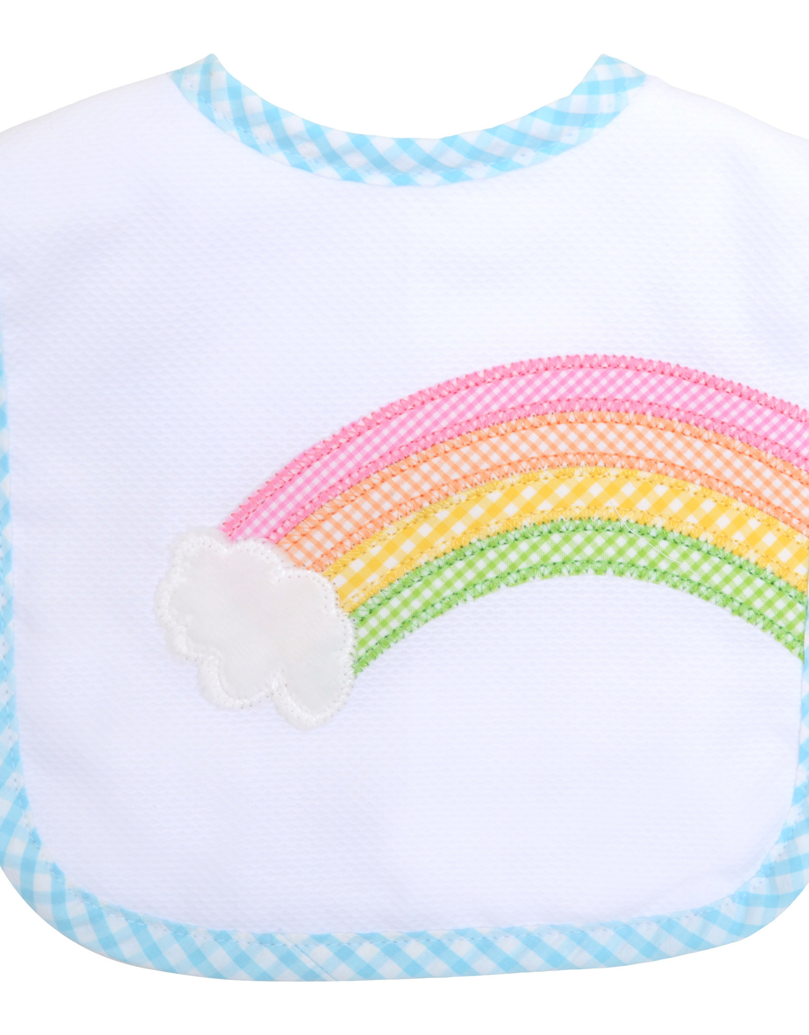 Three Marthas Feeding Bib Rainbow