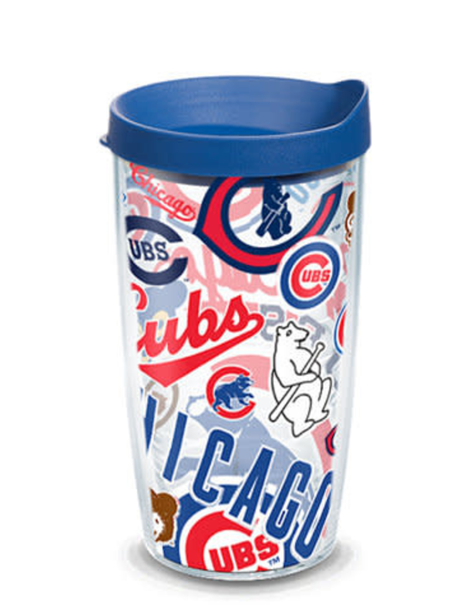 Tervis Tumbler 16oz/lid Cubs All Over