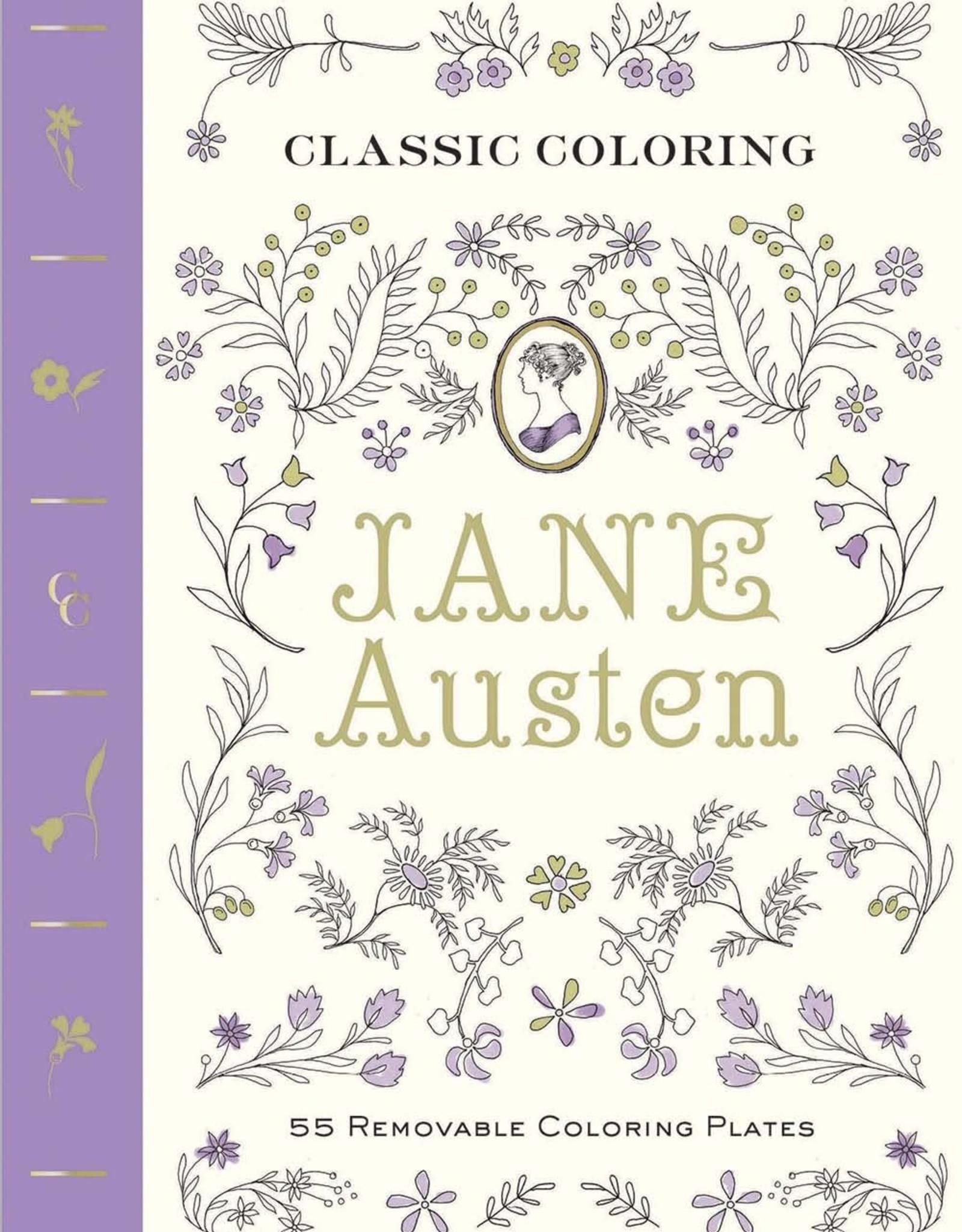 Classic Coloring: Jane Austen