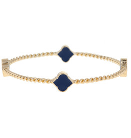 Fornash Bangle Navy Rope Spade