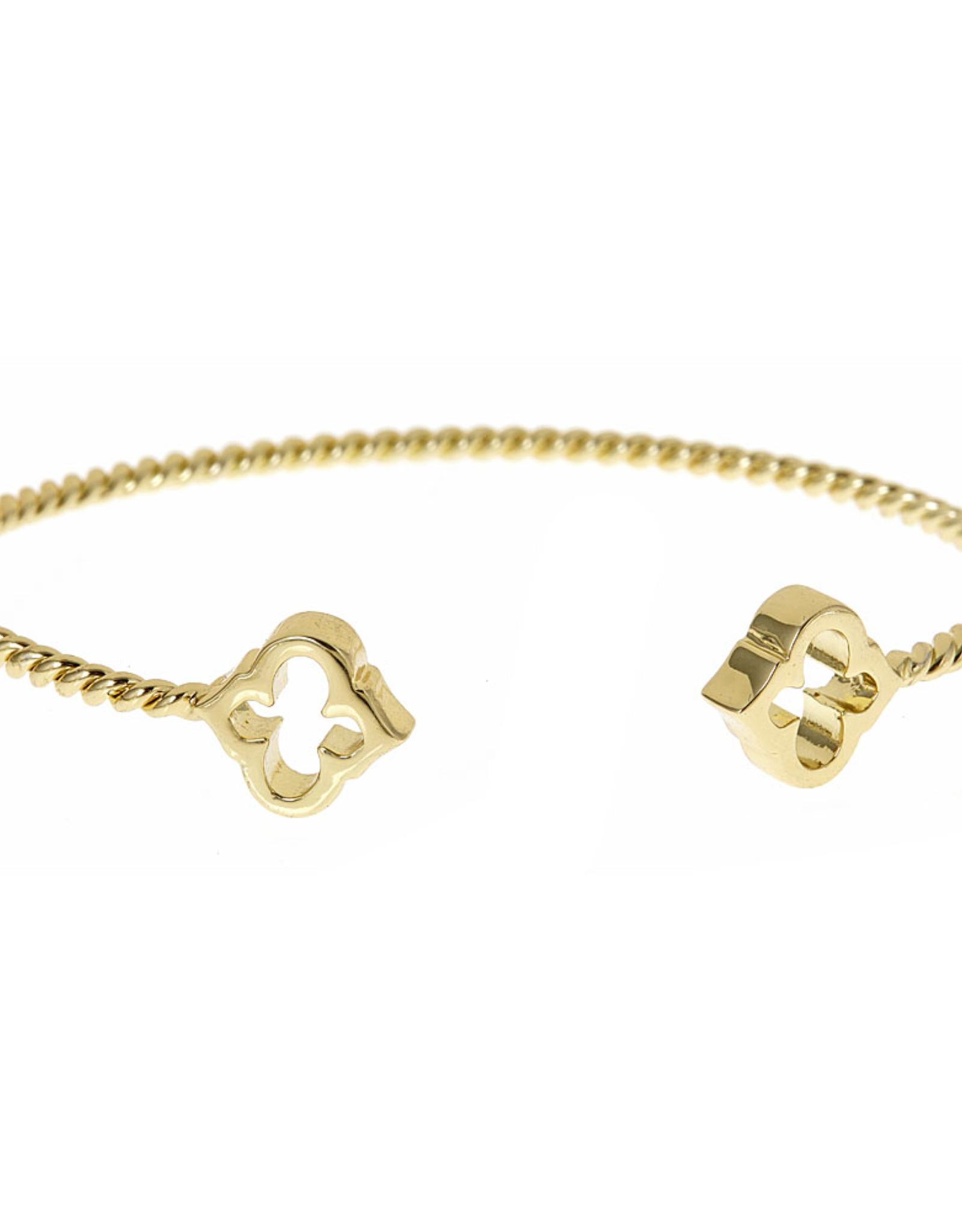 Fornash Bracelet Rope Spade gold