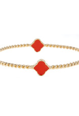Fornash Bracelet Orange Rope Spade
