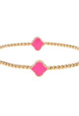 Fornash Bangle Rope Spade Bubblegum Pink