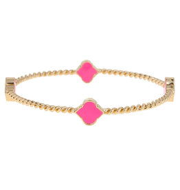 Fornash Bangle Rope Spade Bubblegum Pink