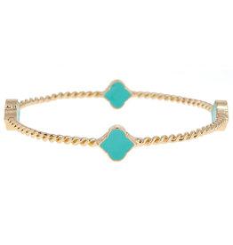 Fornash Bracelet Aqua Rope Spade