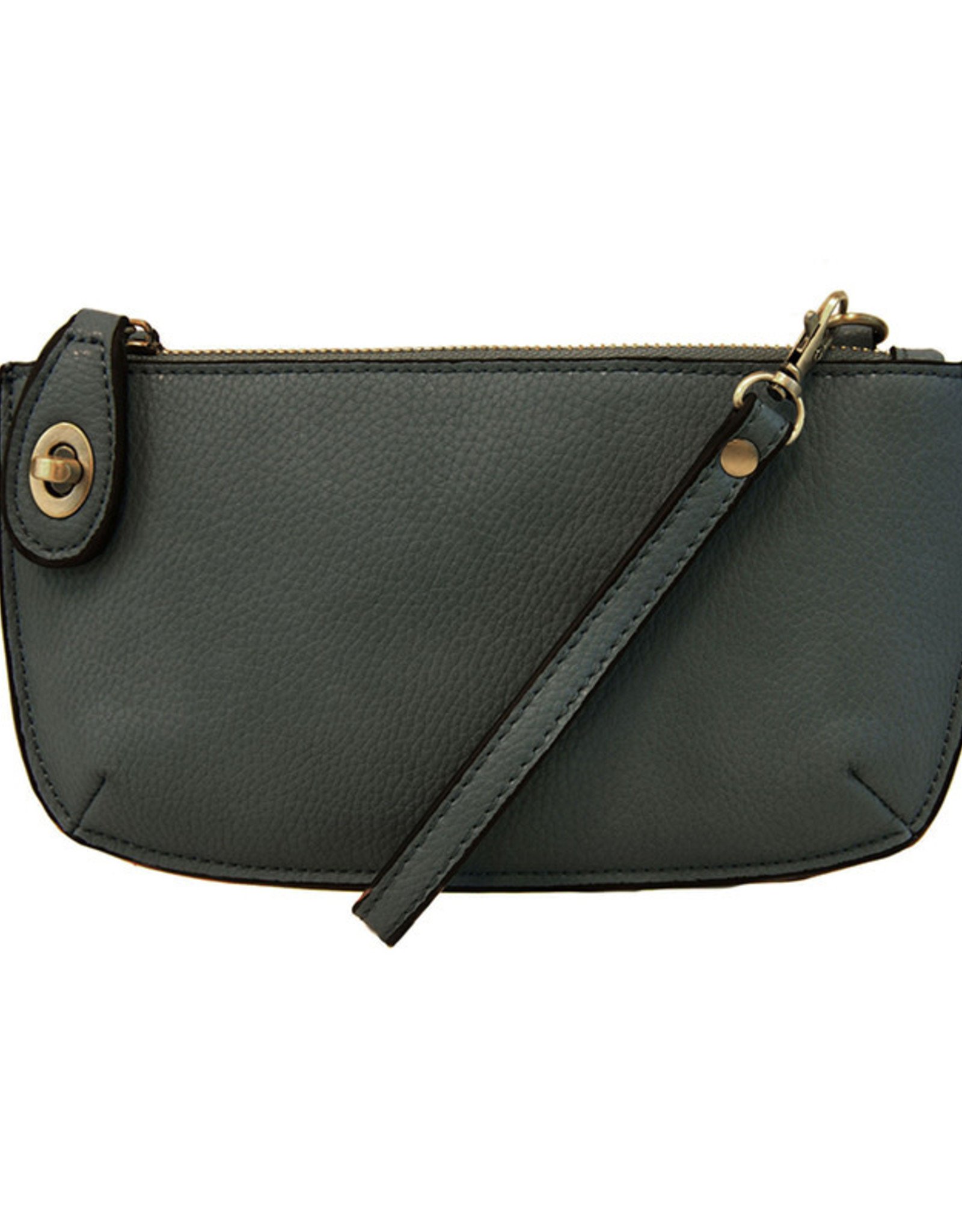 Joy Susan Dark Cyan Mini Crossbody Wristlet Clutch