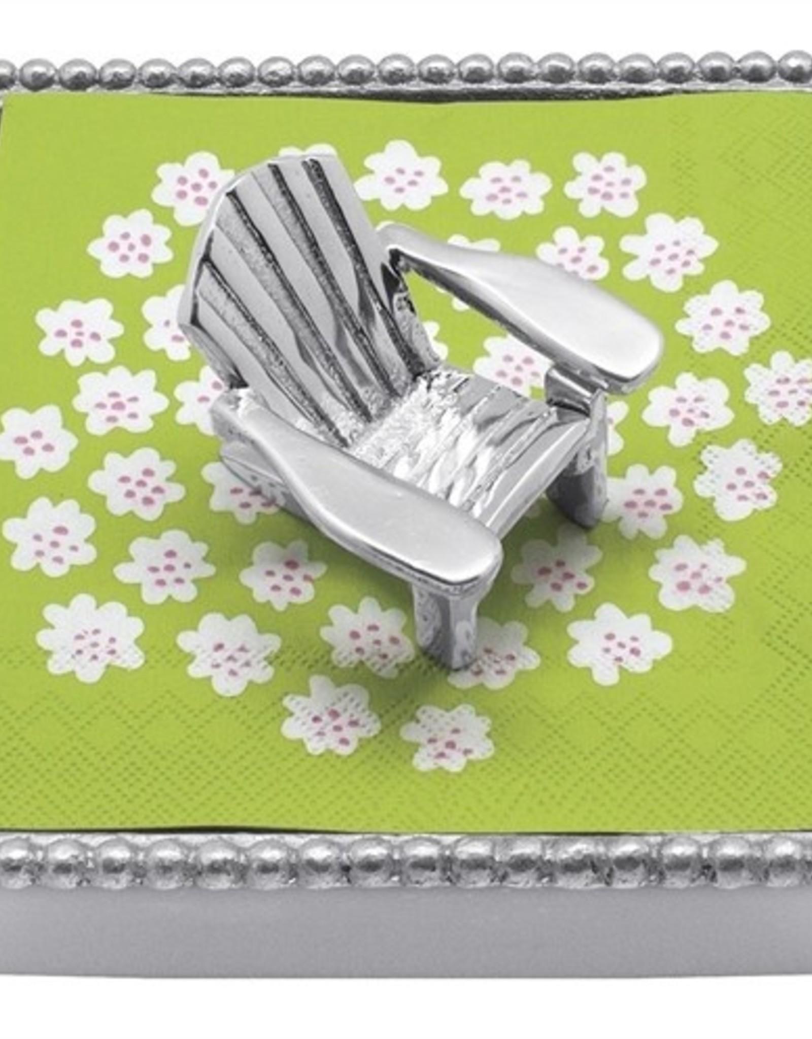 Mariposa Beach Chair Napkin Box