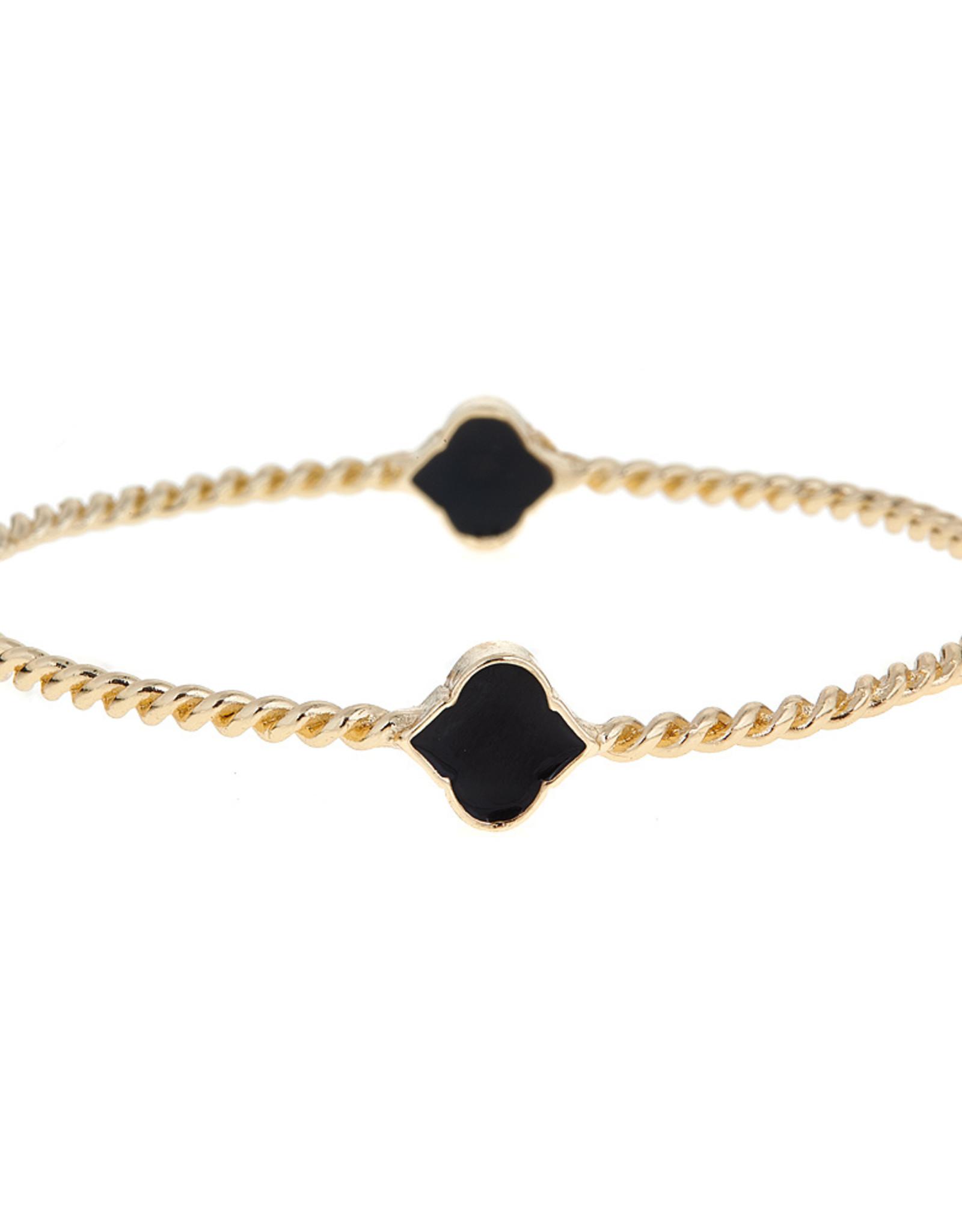 Fornash Bracelet Rope Black  Spade