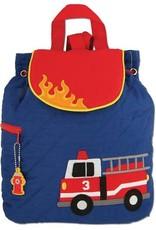 Stephen Joseph Backpack Fire Truck