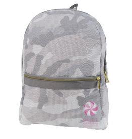Oh Mint Medium Backpack Grey Camo