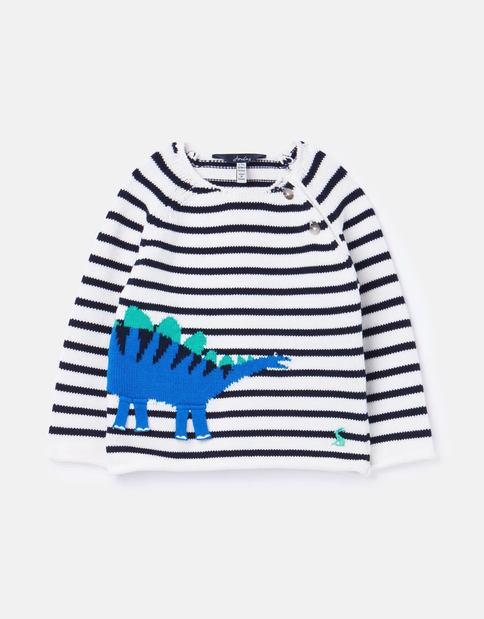 Joules Sweater Navy Stripe Dino