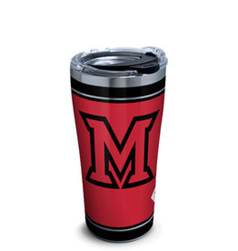 Tervis Tumbler 20oz/Miami Ohio Red Stainless