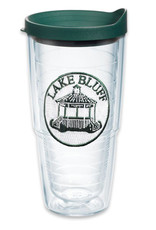 Tervis Tumbler 24oz/lid Green Lid Lake Bluff Gazebo