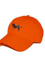 Smather's & Branson Hat Camo Retriever on Orange