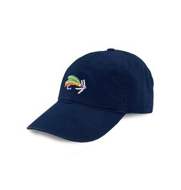 Smather's & Branson Hat Fish Fly on Navy