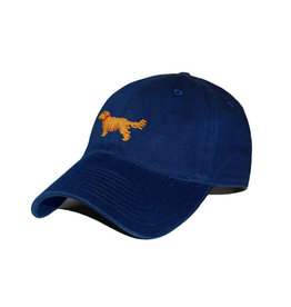 Smather's & Branson Hat Golden Retriever on Navy