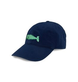 Smather's & Branson Hat Whale on Navy