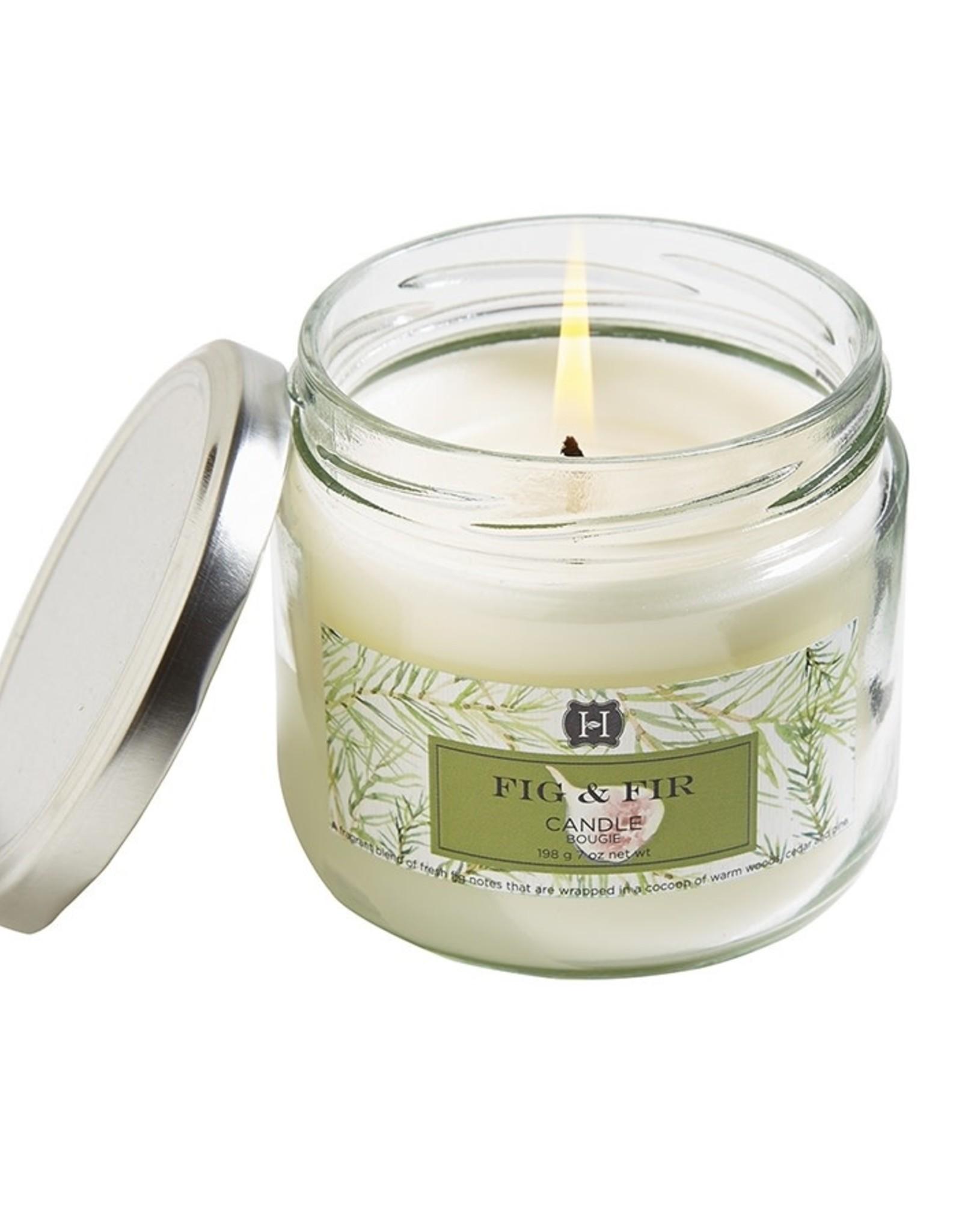 Hillhouse Naturals Fig &  Fir Jar Candle 7oz