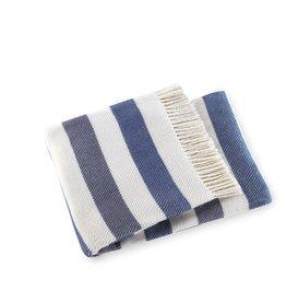 A Soft Idea Throw Sweet Stripes Slate
