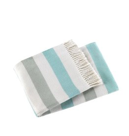 A Soft Idea Throw Sweet Stripes Blues