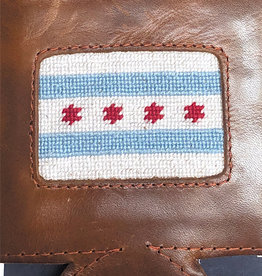 Smather's & Branson Can Cooler Chicago Flag