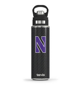 Tervis Tumbler 24oz Northwestern Wildcats Carbon Fiber