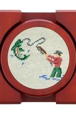 Smather's & Branson Coaster Set Gone Fishing