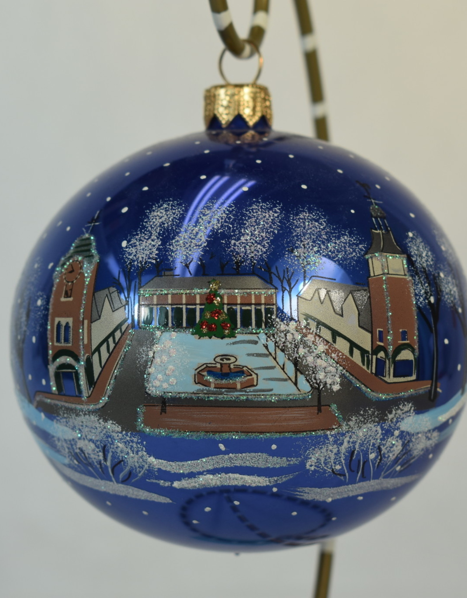 Joy to the World Lake Forest Ornament