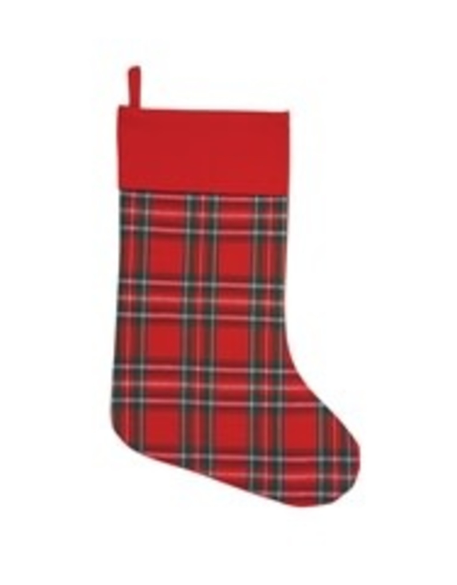 Arlington Plaid His Stocking