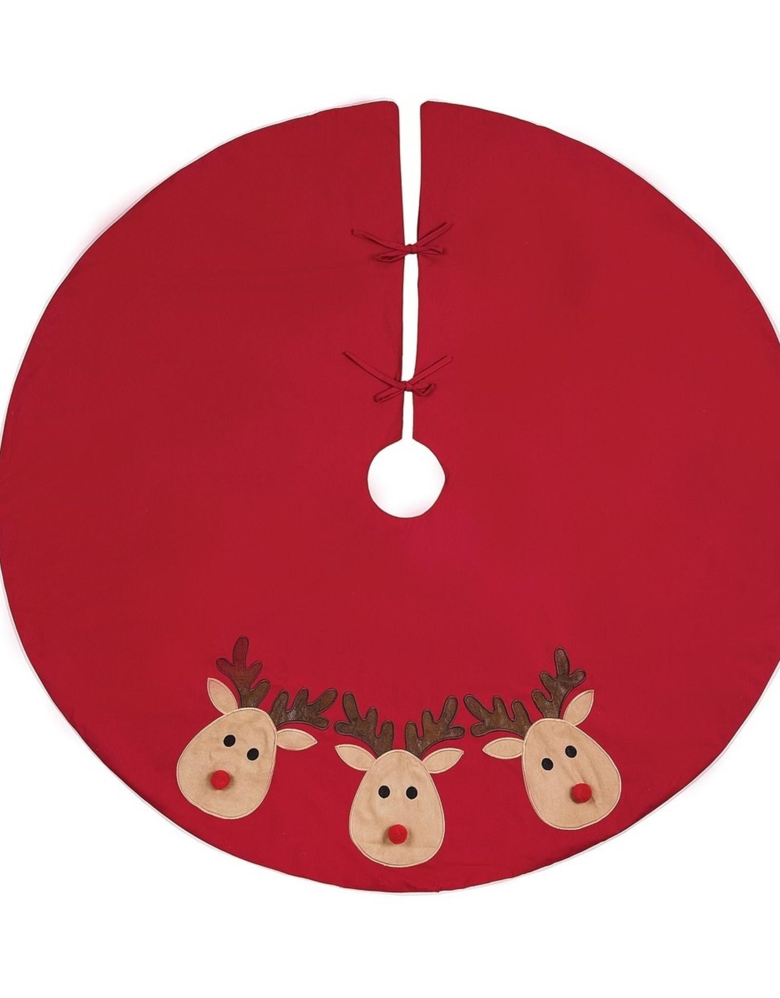 Reindeer  Games Tree Skirt