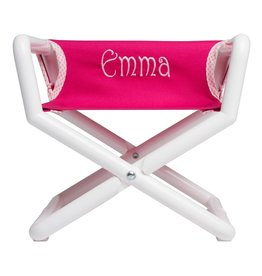 Hoohobbers Hoohobbers Hot Pink Canvas Director Chair