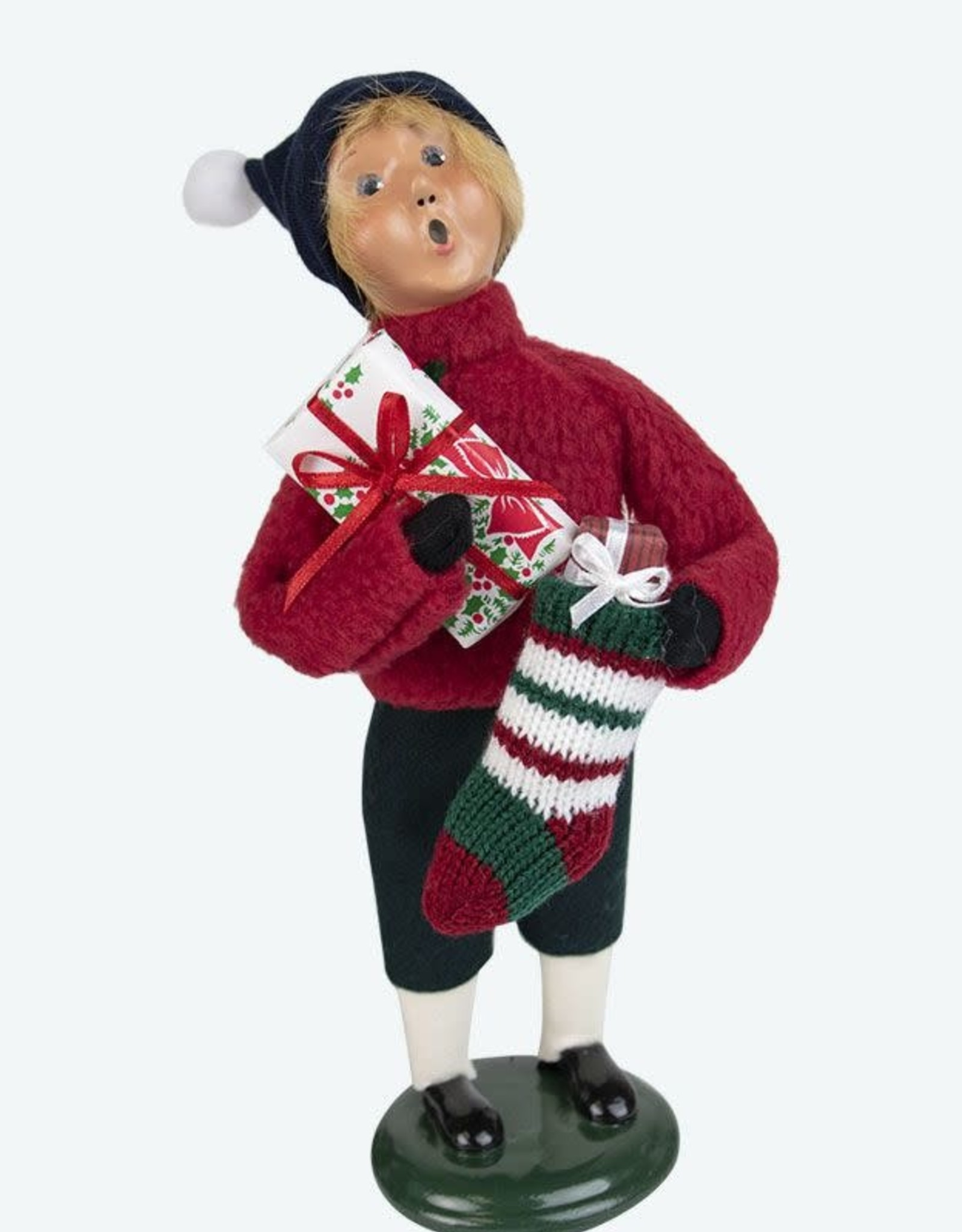 Man w/stocking