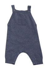 Angel Dear Knit Overall Blue Heather