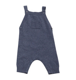 Angel Dear Knit Overall Blue Heather