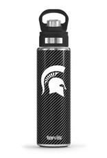 Tervis Tumbler 24oz Michigan Spartans Carbon Fibre