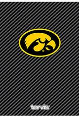 Tervis Tumbler 24oz Iowa Hawkeyes Carbon Fibre