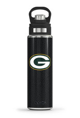 Tervis Tumbler 24oz Green Bay Packers Black Leather