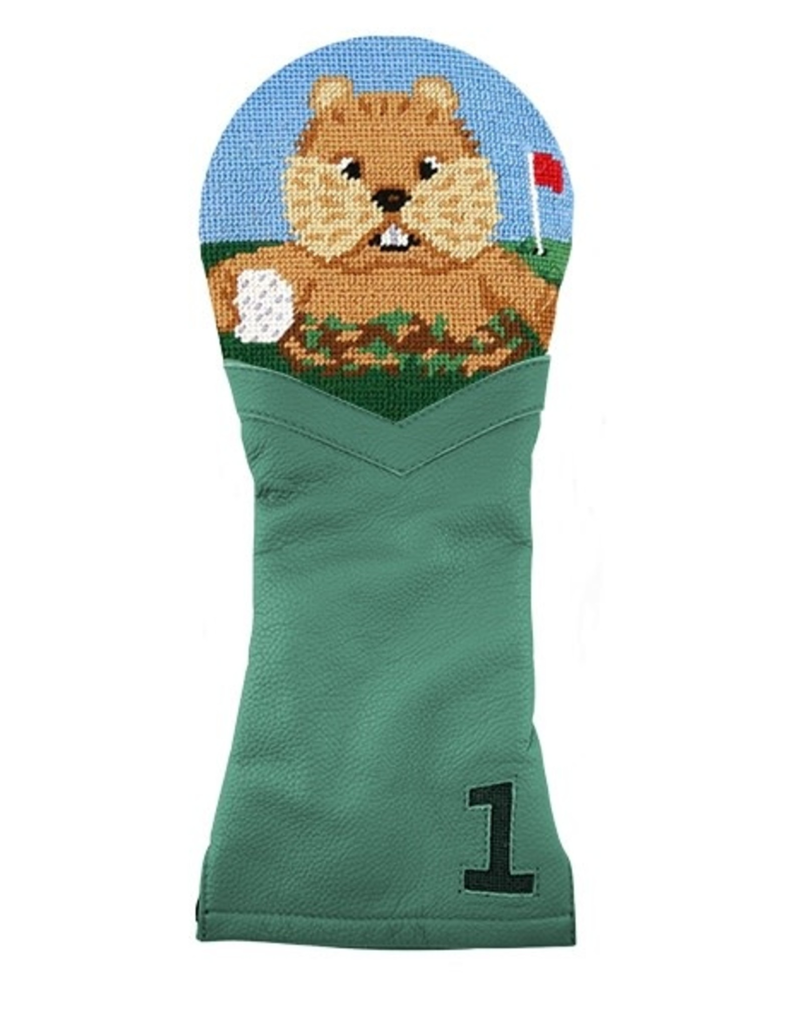Smather's & Branson Golf Head Cover Gopher