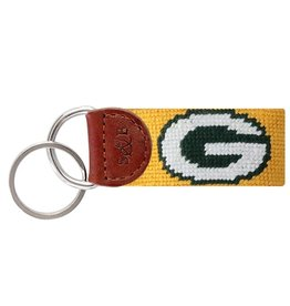 Smather's & Branson Key Fob Green Bay Packers Yellow