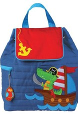 Stephen Joseph Backpack Alligator Pirate