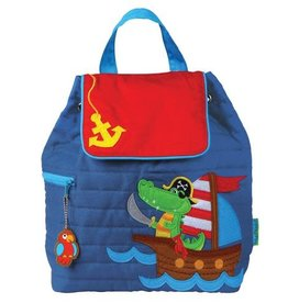Stephen Joseph Backpack Alligator Pirate