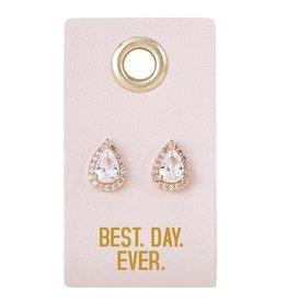 Santa Barbara Design Studio Earrings Sparkly Best Day Ever