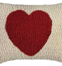 Small Pillow Red Heart 8x12