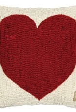 Heart Hooked Pillow