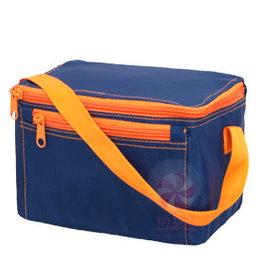 Oh Mint Lunch Box Navy Orange