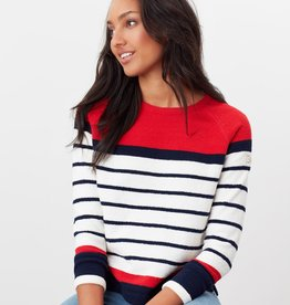Joules Seaport Red Stripe